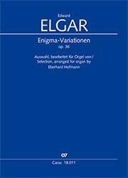 E. Elgar: Enigma Variations op. 36. Selection, arranged for organ by Eberhard Hofmann