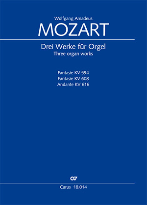 W. A. Mozart: Three organ works