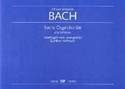 Sechs Orgelchoräle à la Schübler für Orgel nach Kantatensätzen von Bach