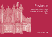 Pastoral music for organ, vol. 1: Italy, Switzerland, France, England