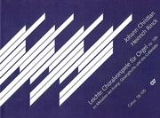 Rinck: Leichte Choralvorspiele für die Orgel op. 105