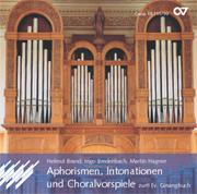 Aphorismen, Intonationen und Choralvorspiele zum EG - CD