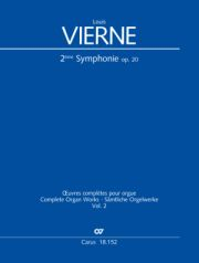 Louis Vierne: Symphonie Nr. 2 in e