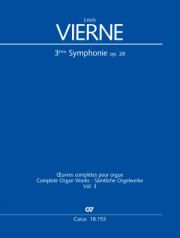 Louis Vierne: Symphonie Nr. 3 in fis