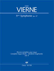 Louis Vierne: Symphonie Nr. 5 in a