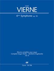 Louis Vierne: Symphonie Nr. 6 in h