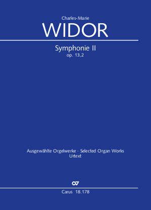Charles-Marie Widor: Symphonie No. II  pour Orgue