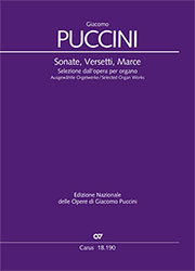 Puccini: Sonate, Versetti, Marce. Selected Organ Works
