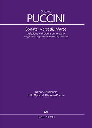 Puccini: Sonate, Versetti, Marce. Ausgewählte Orgelwerke