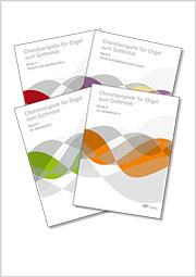 Choralvorspiele für Orgel zum Gotteslob. 4 Bände im Paket