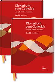 Klavierbuch zum Gotteslob. 2 Bände