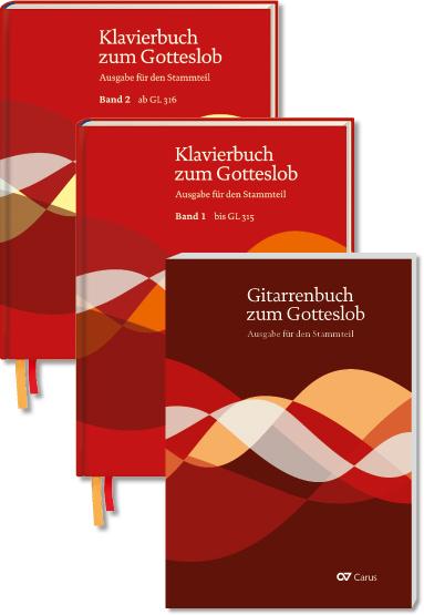 Set: Klavierbuch und Gitarrenbuch zum Gotteslob