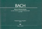 Bach: Kleine Klavierstücke um 1745
