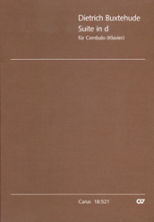Dieterich Buxtehude: Suite in a