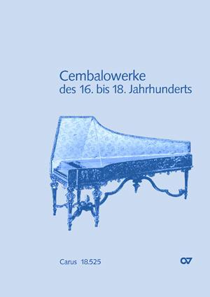Notenband zur Cembaloschule von J. Trinkewitz