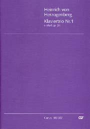 Heinrich von Herzogenberg: Klaviertrio Nr. 1 in c