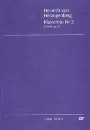 Heinrich von Herzogenberg: Klaviertrio Nr. 2 in d