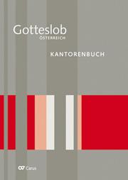 Kantorenbuch zum Gotteslob. Eigenteil Österreich