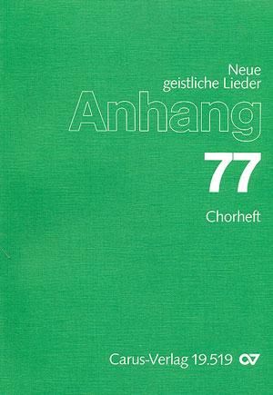 Anhang 77: Chorheft