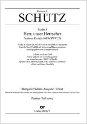 Heinrich Schütz: Herr, unser Herrscher