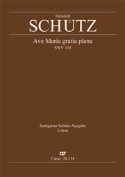 Heinrich Schütz: Ave Maria, gratia plena