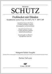 Heinrich Schütz: Frohlocket mit Händen