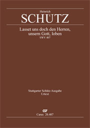 Heinrich Schütz: Let us declare the glory of the lord our god