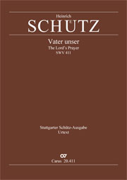 Heinrich Schütz: The Lord's prayer