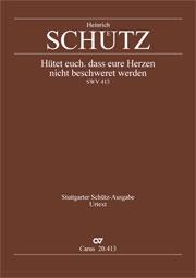 Heinrich Schütz: Watch and pray