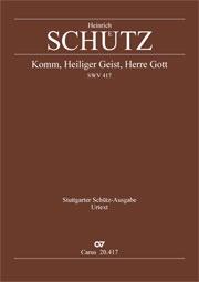 Heinrich Schütz: Come, Holy Ghost