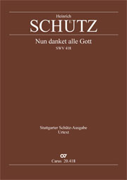 Heinrich Schütz: Let all give thanks to god