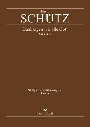 Heinrich Schütz: All thanks be to God
