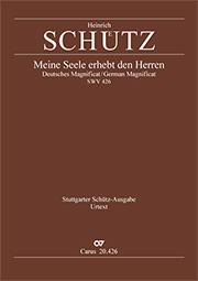 Schütz: Magnificat (Meine Seele erhebt den Herrn); Ehre sei dem Vater