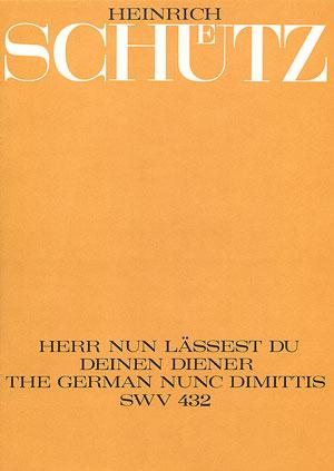 Heinrich Schütz: Lord, now lettest thou thy servant depart