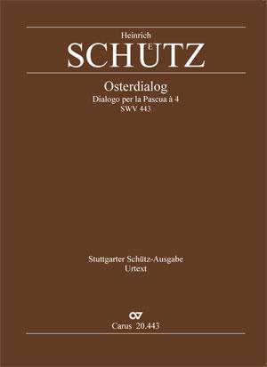 Heinrich Schütz: Weib, was weinest du