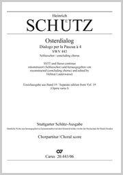 Schütz, Heinrich: Weib, was weinest du
