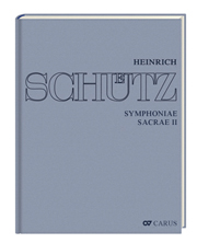Stuttgarter Schütz-Ausgabe: Symphoniae sacrae II (Gesamtausgabe, Bd. 11)