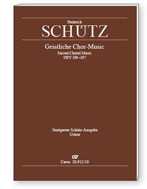 Stuttgarter Schütz-Ausgabe: Geistliche Chor-Music 1648 (Gesamtausgabe, Bd. 12). Paperback-Ausgabe