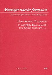 Marc-Antoine Charpentier: In nativitate Domini nostri Jesu Christi canticum