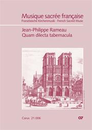 Jean-Philippe Rameau: Quam dilecta tabernacula