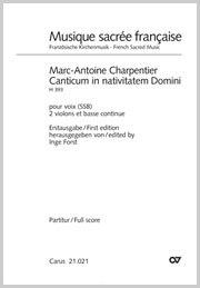 Marc-Antoine Charpentier: Canticum in nativitatem Domini