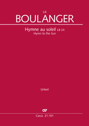 Lili Boulanger: Hymne to the Sun