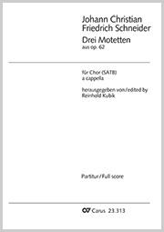 Schneider: Drei Motetten