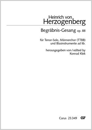Heinrich von Herzogenberg: Begräbnis-Gesang