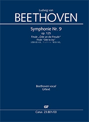 Ludwig van Beethoven: 9th Symphony. Finale