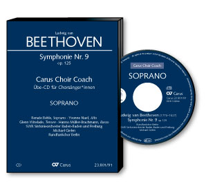 Beethoven: 9th Symphony. Finale. Carus Choir Coach