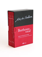 Beethoven: Works for choir and orchestra