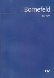 Helmut Bornefeld: Bornefeld-Werke-Verzeichnis