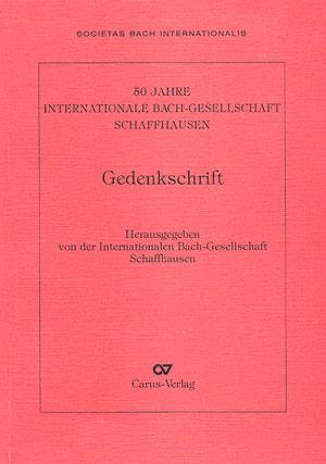 Gedenkschrift 50 Jahre IBGS