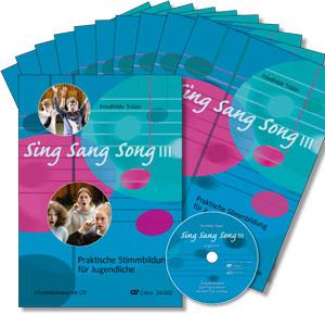 Sing Sang Song III. Praktische Stimmbildung für Jugendliche. Starter-Set